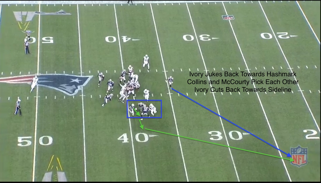 patriots defense v jets nickel collins mccourty
