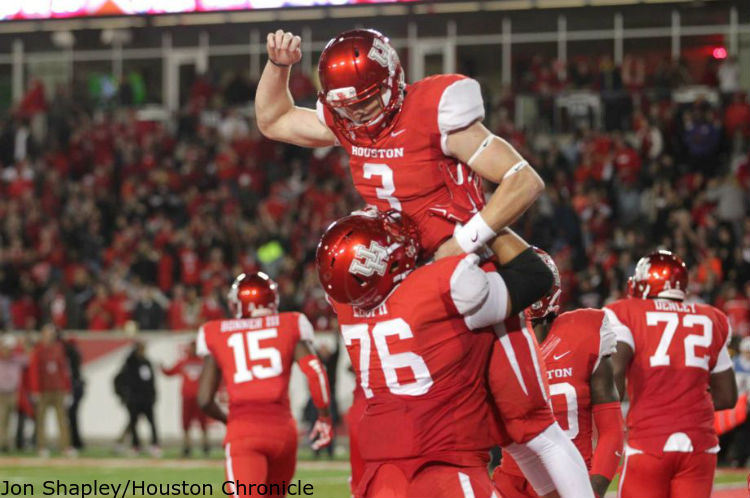 CFB Drive: Houston Cougars Gets Back in It - Inside The Pylon