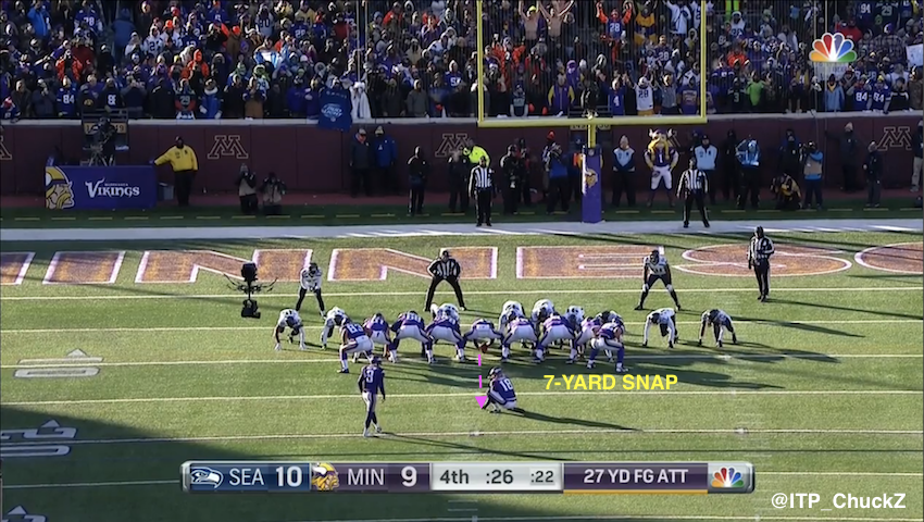 Seattle Blair Walsh >> Explaining The Blair Walsh Missed Field Goal - Inside The Pylon