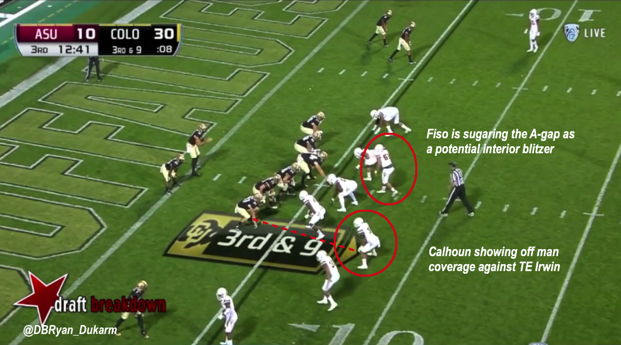 Arizona State Blitz Schemes Inside The Pylon