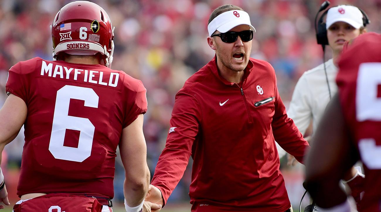 brand new d527a 4d7a1 Lincoln Riley's Offense vs Ohio State: An NFL Scheme Gold ...