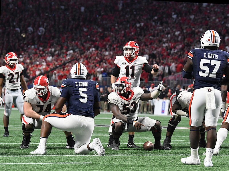 Best Offensive Lines 2020.College Football S Best 2018 Offensive Lines Georgia